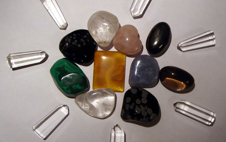 Виды камней для массажа