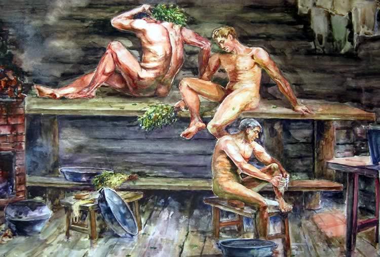Древнерусская баня