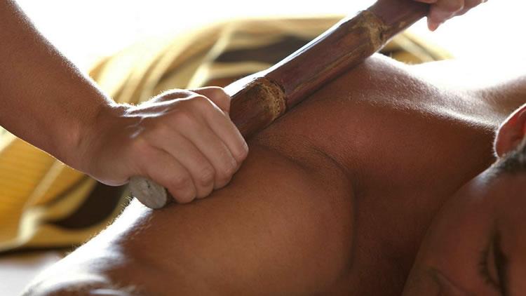 Массаж спины – прокатывание