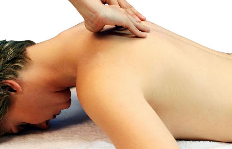 Массирование спины