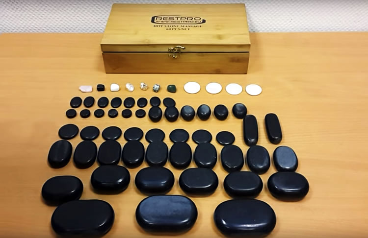 Набор камней для стоун-терапии