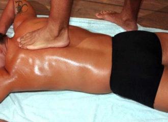 Педиальный массаж спины