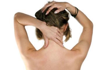 Массирование шеи