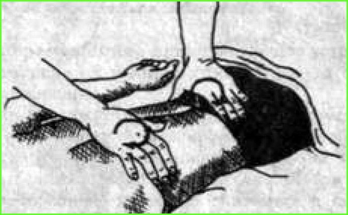 Положение рук