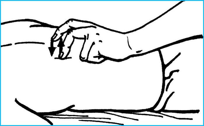 Пунктирование пальцами