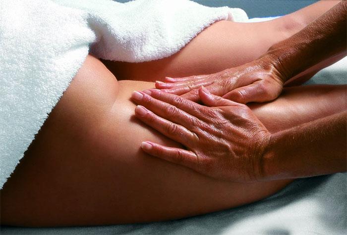Антицеллюлитный массаж задней поверхности бедра
