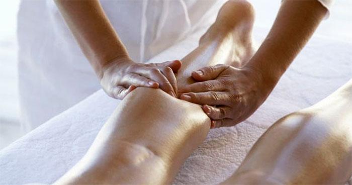 Глубокий массаж икроножной мышцы