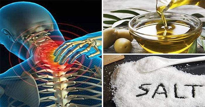 Ингредиенты для солевого массажа