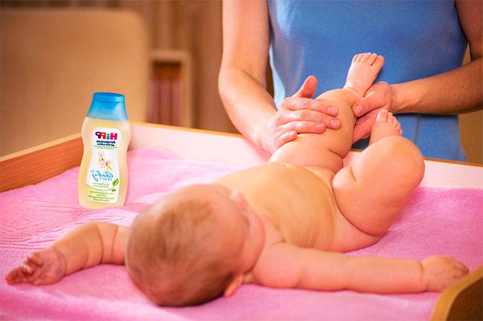 Детский массаж нижних конечностей