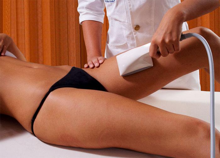 Вакуумный массаж ног