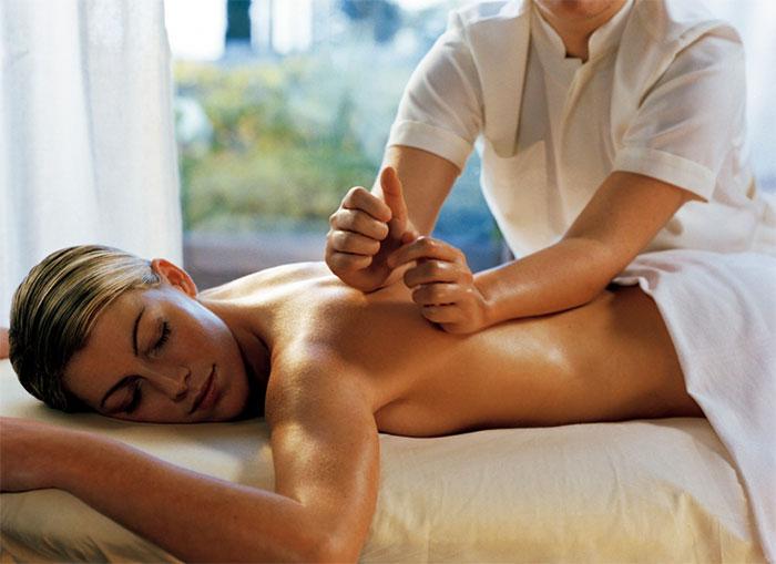 Классический массаж спины