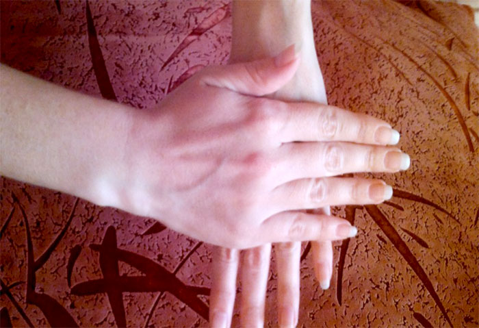 Самомассаж кистей рук