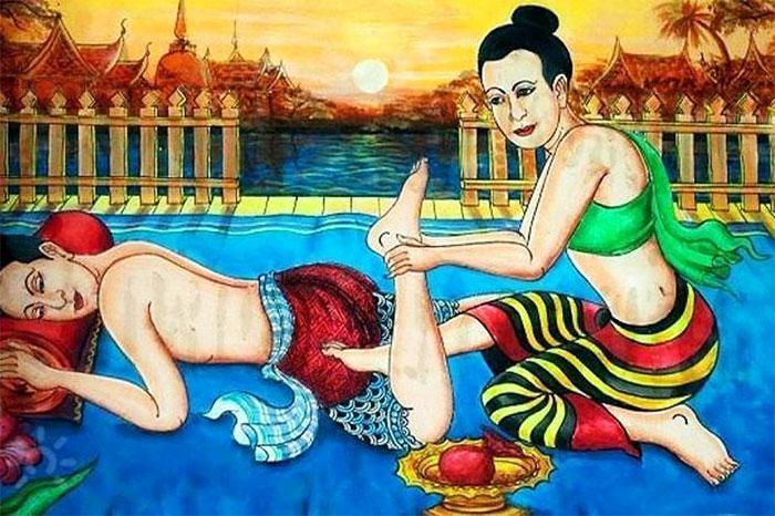 Тайский массаж в древности