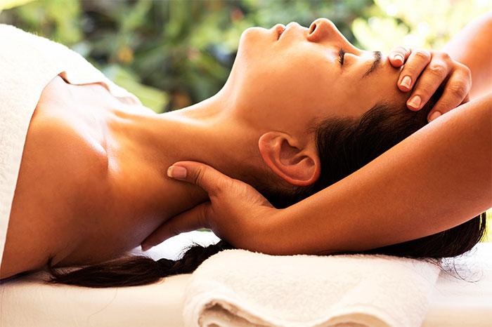 Йога-массаж шеи