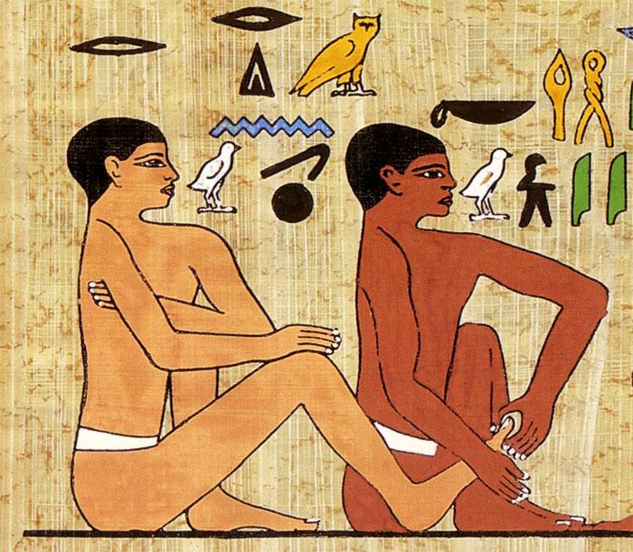 Массаж стопы в древности