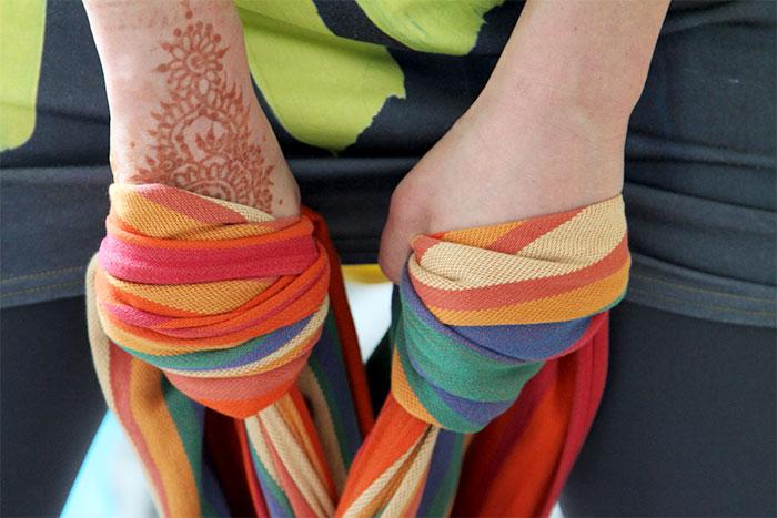 Мексиканский шарф для массажа