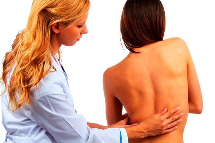 Пальпаторное тестирование у врача