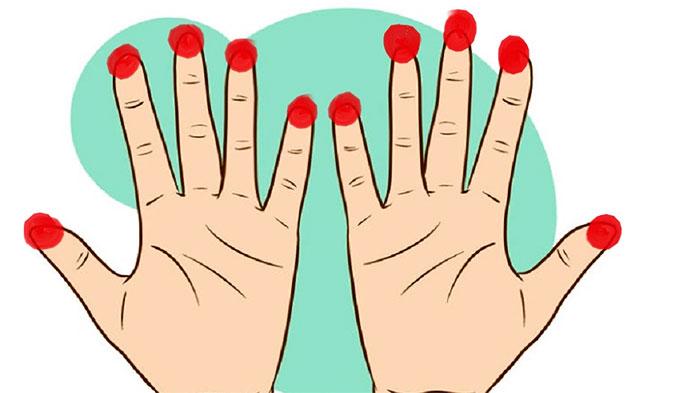 Точки на пальцах для массажа при простуде