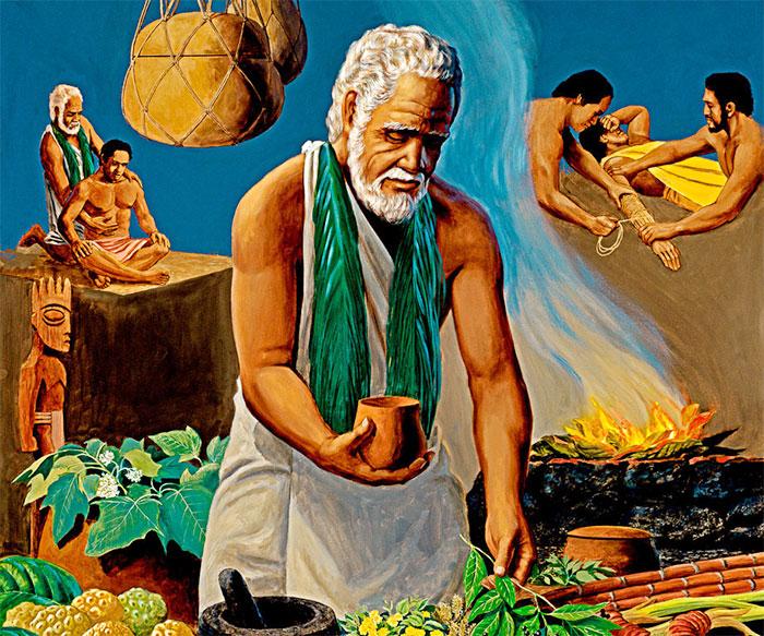 Древние люди гавайских островов