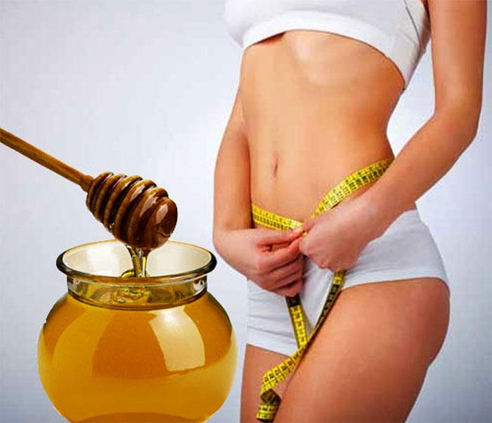 Применение меда для уменьшения объема талии