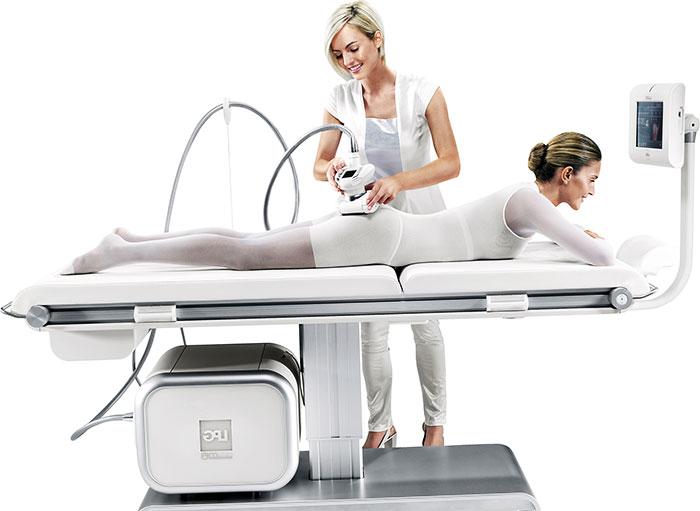 Процедура аппаратного массажа
