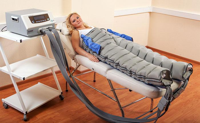 Процедура на аппарате Lympha Tron