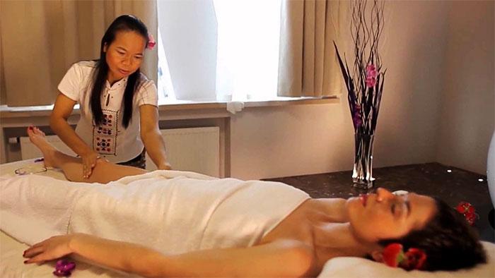 Тайский массаж в салоне