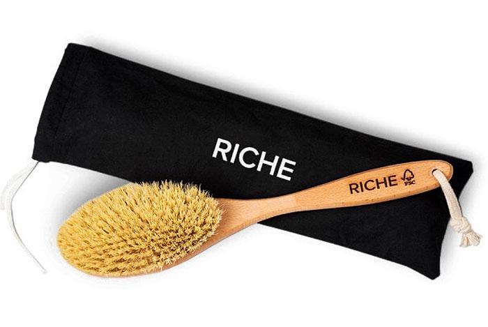 Дренажная щетка Riche для сухого массажа
