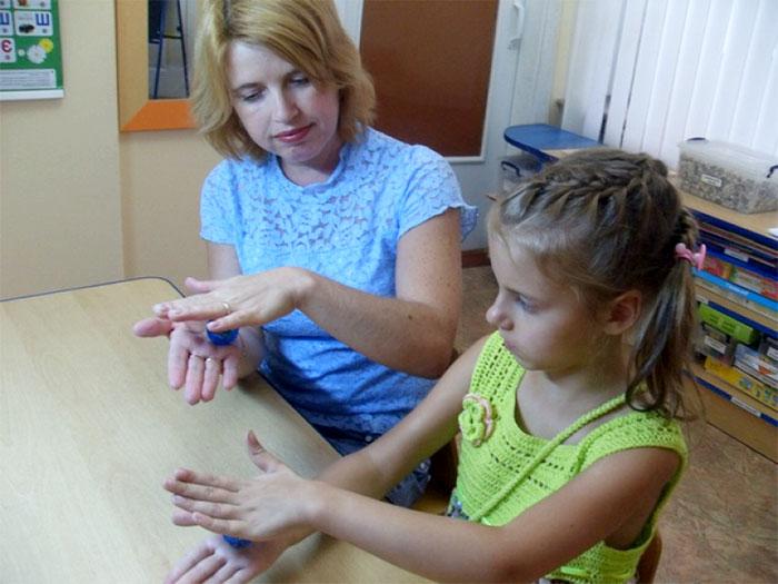Гимнастика с массажером су-джок для детей