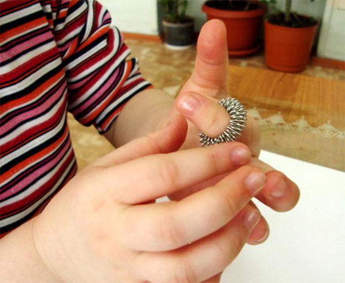 Применение кольца су-джок