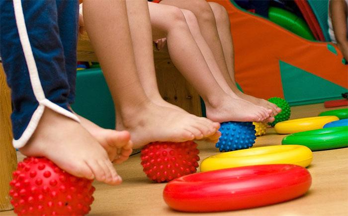 Массажные мячики для ног