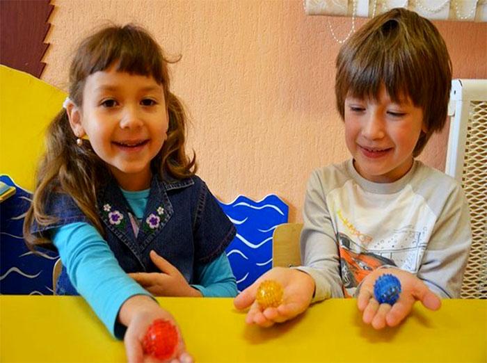 Су-джок терапия в детском саду и в логопедической работе: упражнения, картотека