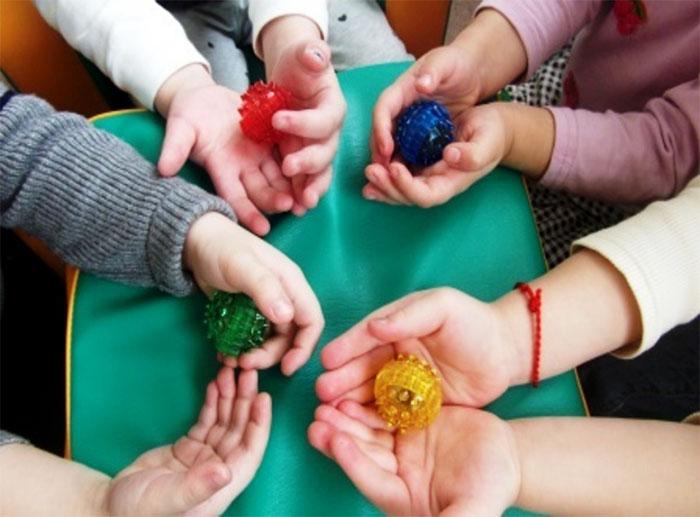 Массажные шарики для детей