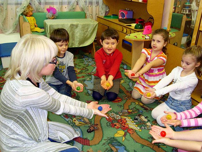 Су-джок с детьми