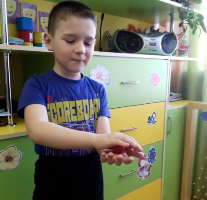 Применение массажера Су-Ждок в детском саду
