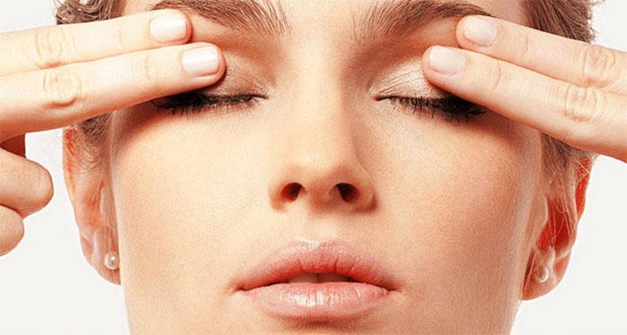 Самомассаж области глаз