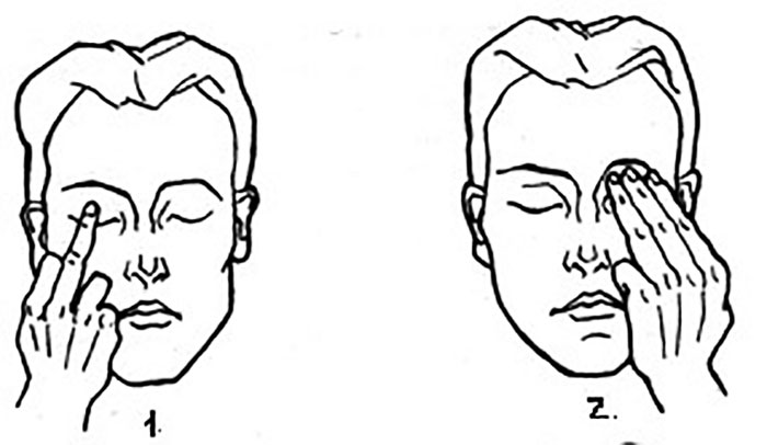 Самомассаж при глаукоме